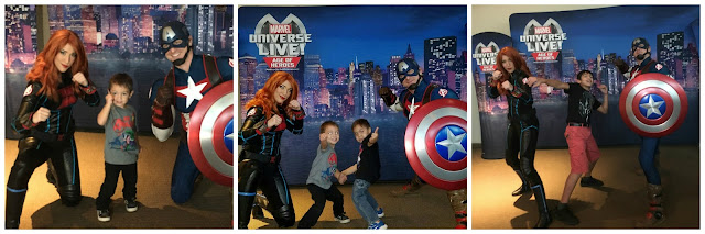 Marvel Universe Live Avengers Meet Up