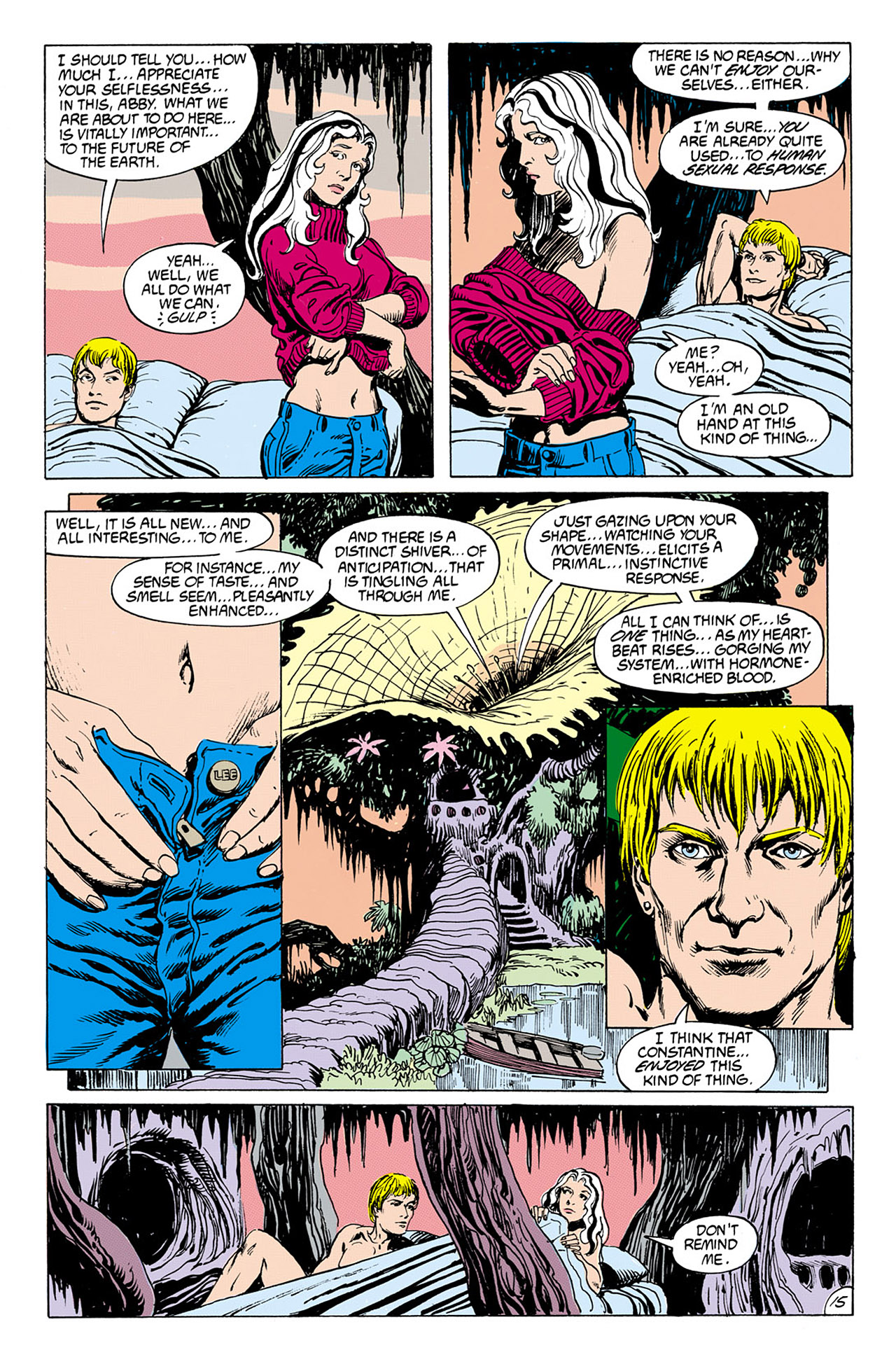 Swamp Thing (1982) Issue #76 #84 - English 15