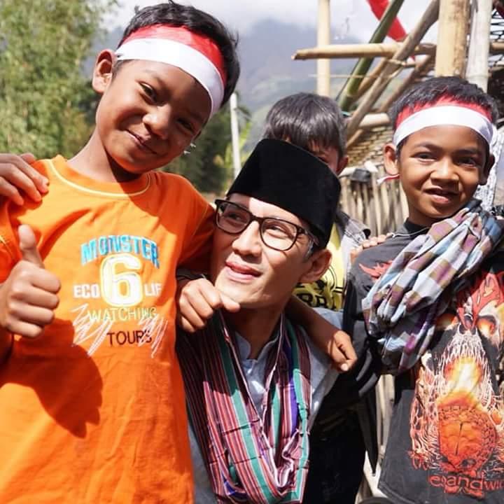 Empat Fakta Mengagumkan Di Balik Bantuan Sandi 2,3 Miliar untuk Korban Gempa Lombok