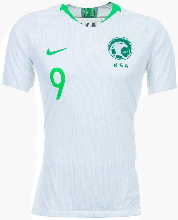 26efefbb5c Nike lança as novas camisas da Arábia Saudita para a Copa do Mundo ...
