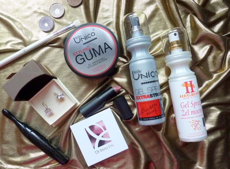 Hegron Gel Spray, Stile Unico Gel Spray, Guma do Kreatywnej stylizacji włosów