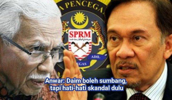 Anwar: Daim boleh sumbang, tapi hati-hati skandal dulu