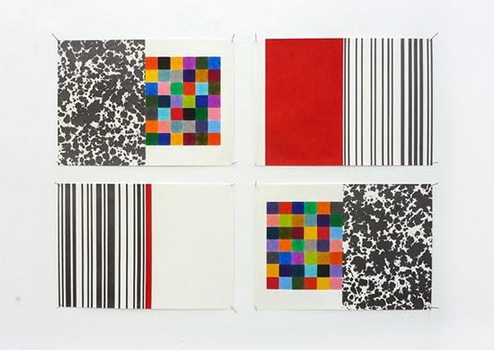 drawing Stephan van den Burg, spreads, 2013