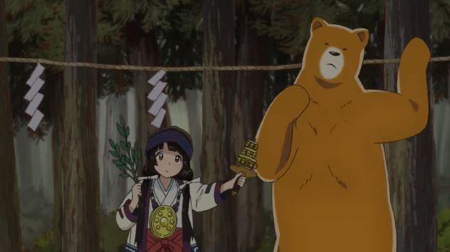 Anime Kuma Miko