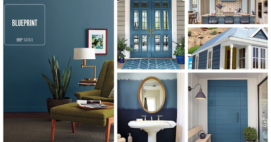 2019 Behr Color of the Year: Blueprint, S470-5