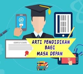 Arti pendidikan bagi Masa Depan-faizalhusaeni.com