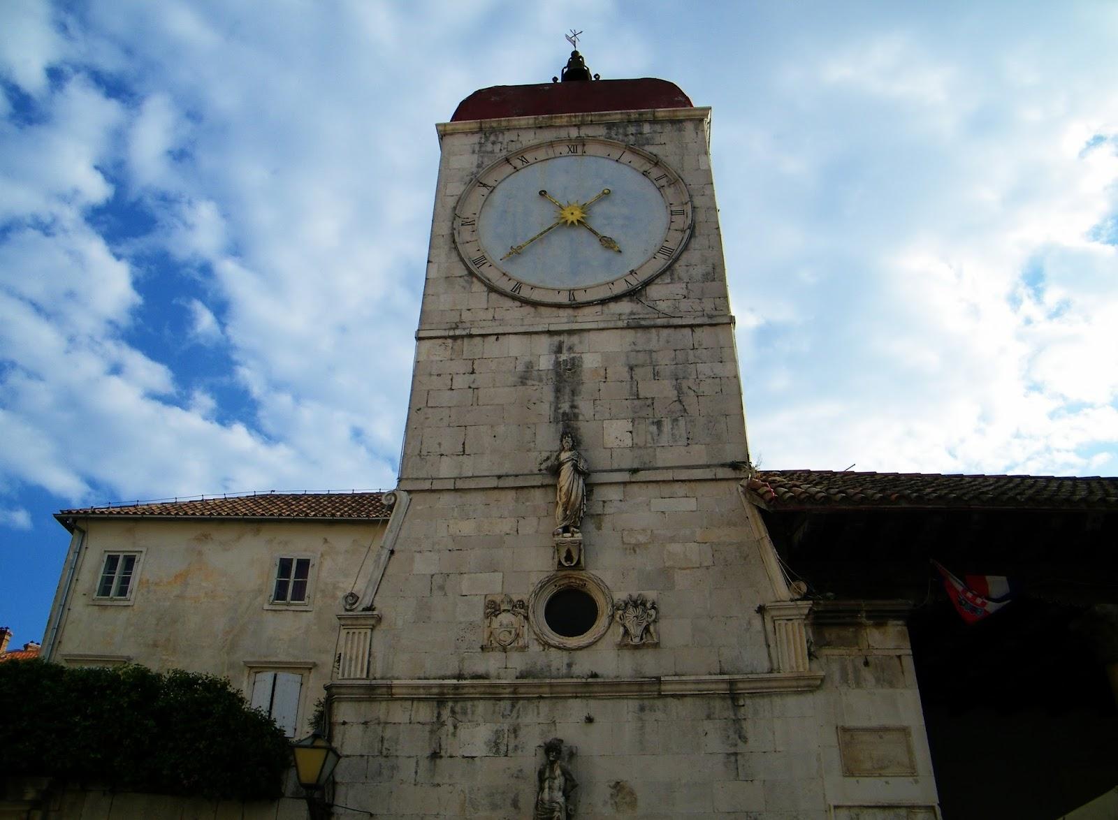 Trogir - Wieża zegarowa