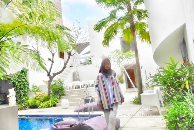 Arsitektur yang unik dari Scala Bed and Beyond Bali