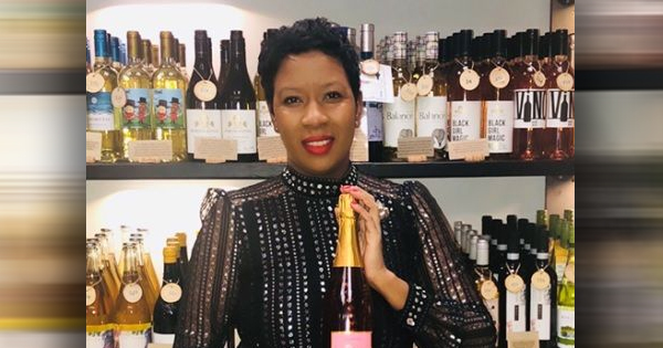Marvina Robinson, founder of Stuyvesant Champagne