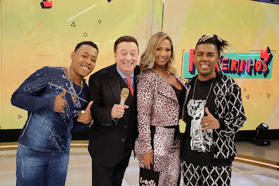 MC 7kssio, Raul Gil, Valesca e MC MM (Foto: Rodrigo Belentani)