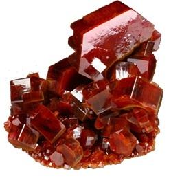 vanadinita cristal mineral | foro de minerales