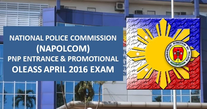 Napolcom Opens 2016 Online Exam Application Scheduling