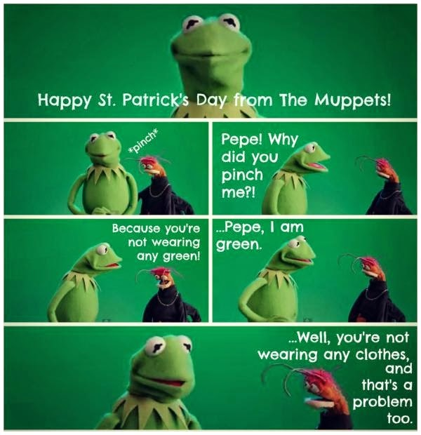 Happy St. Patrick's Day from The Muppets!