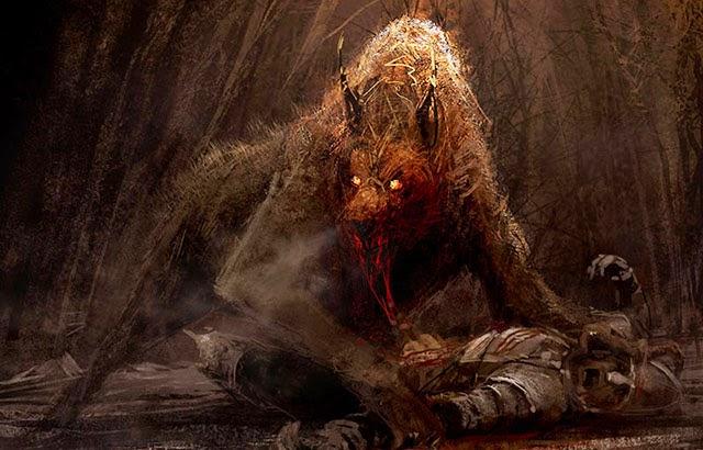 lobisomem, licantropo, licantropia, medo, terror, real, relato, aterrorizante, macabro, lobo