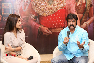 Shriya Saran Nandamuri Balakrishna at Gautamiputra Satakarni Team Press Meet Stills  0187.JPG