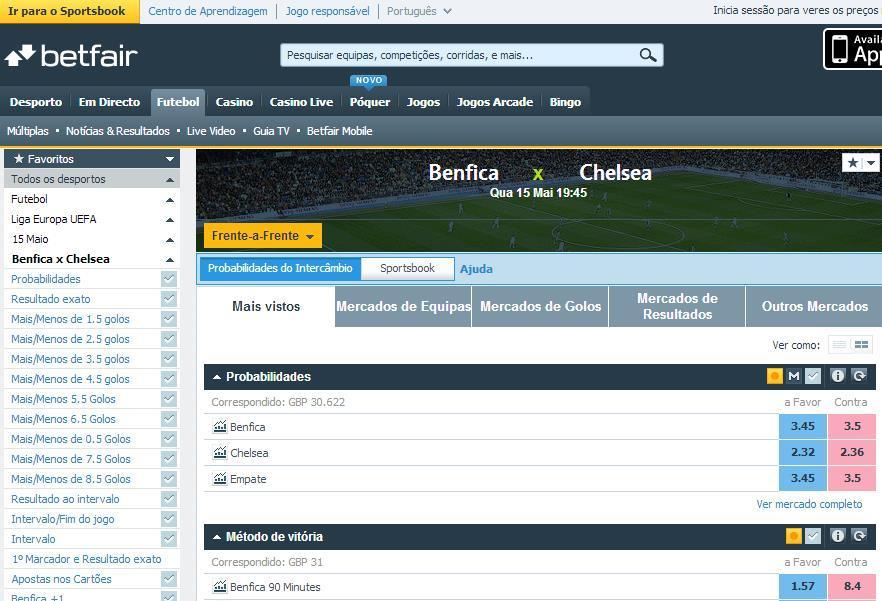 Como fazer apostas desportivas online