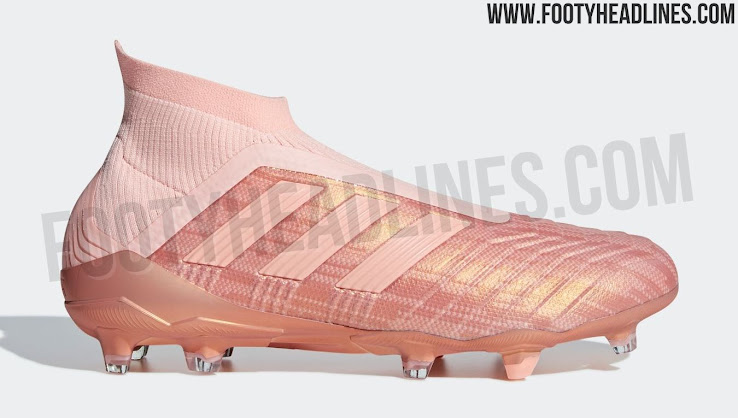 Pink Adidas Predator 18+ Spectral Mode Boots Released ...