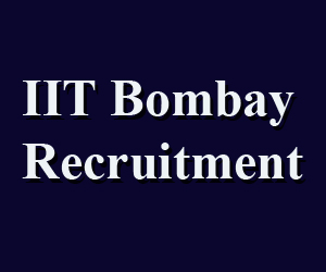 IIT Bombay Recruitment-2017