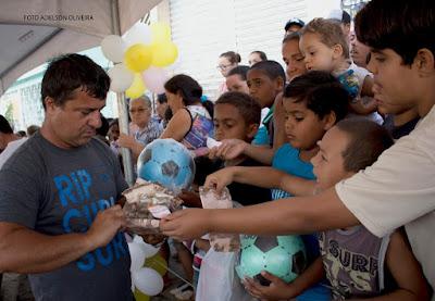 Empresários Wanderley realiza festa para 1000 crianças em Sairé