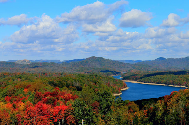 Summersville Lake in the Fall