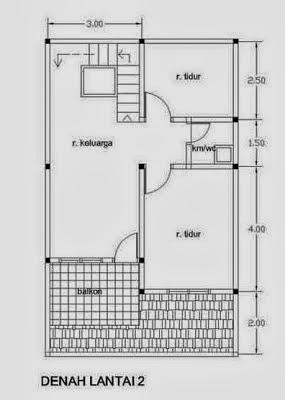 Desain Rumah Minimalis 2 Lantai Type 21 Kumpulan Gambar ...