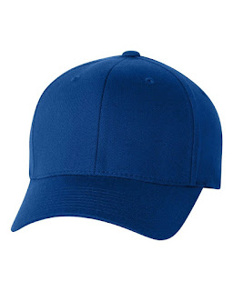 topi baseball biru