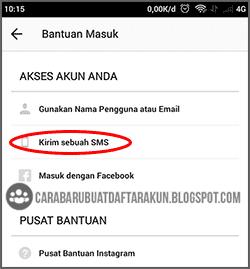 merubah password instagram