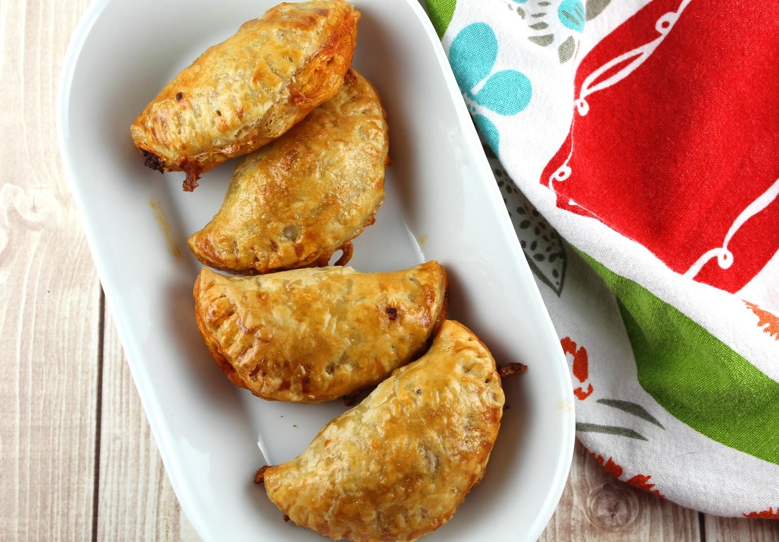 chorizo and cheese empanadas - easy weeknight meal
