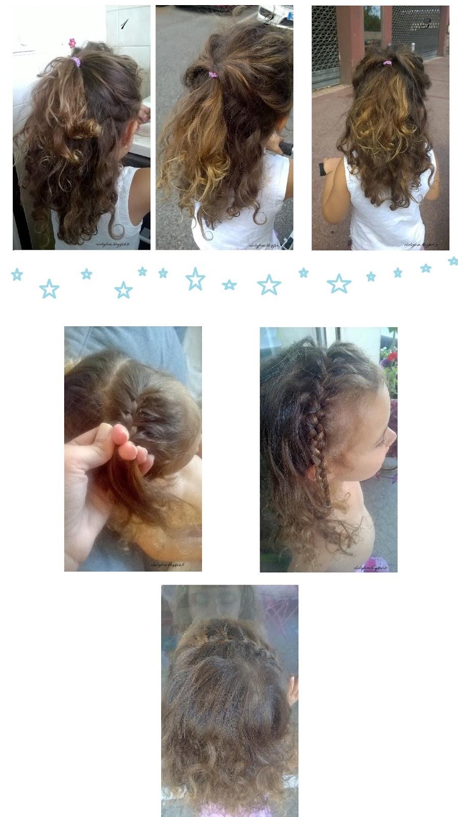 coiffures fille pour école