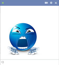 Arguing Facebook Smiley