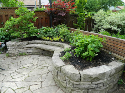 By Paul Jung Gardening Services--a Toronto Gardening Company new back garden makeover in Wychwood after