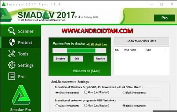 Cara penggunaan Smadav Pro 2017