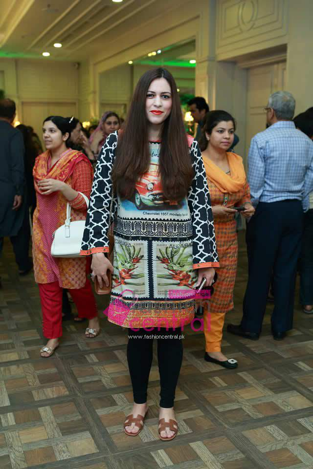 VLaunching of Rungrez Lawn in Lahore