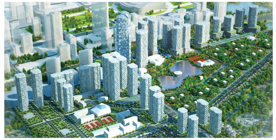 Chung cư N03T6 Ngoại Giao Đoàn - Đô thị với cuộc sống xanh