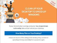 CLEAN UP YOUR DESKTOP!