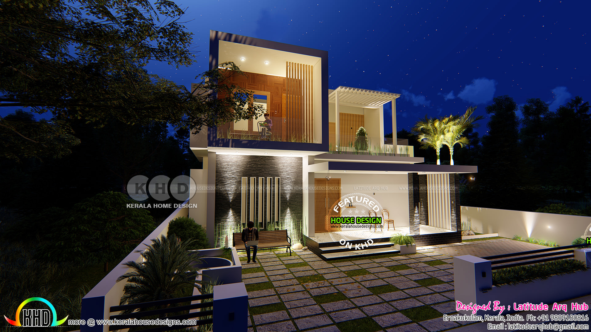 International home design in contemporary style kerala for International house plans