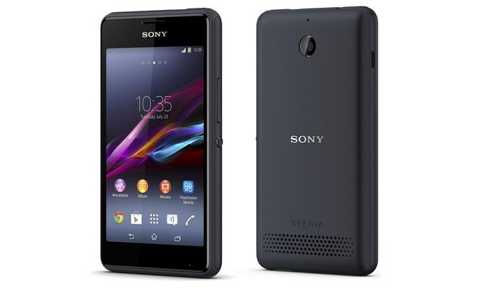 Cara Flashing Sony Xperia E1 Dual D2105 Bootloop / Mati total