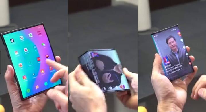 Xiaomi Pamer HP Lipat terbaru Dengan Desain Yang Mewah