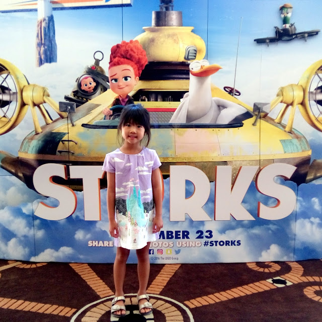 storks movie screening and reception at the warner bros. studios lot