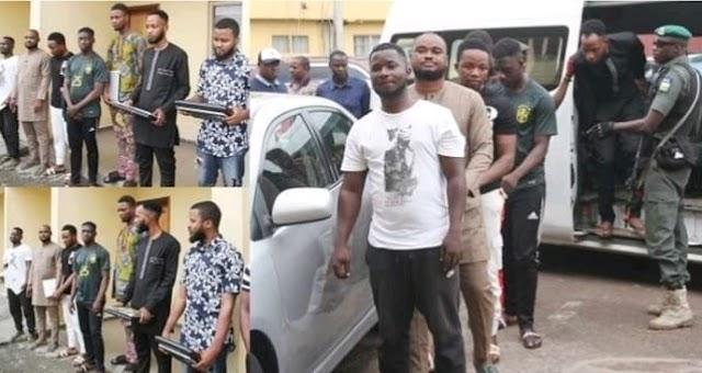 EFCC arrests eight Internet fraudsters in Lagos
