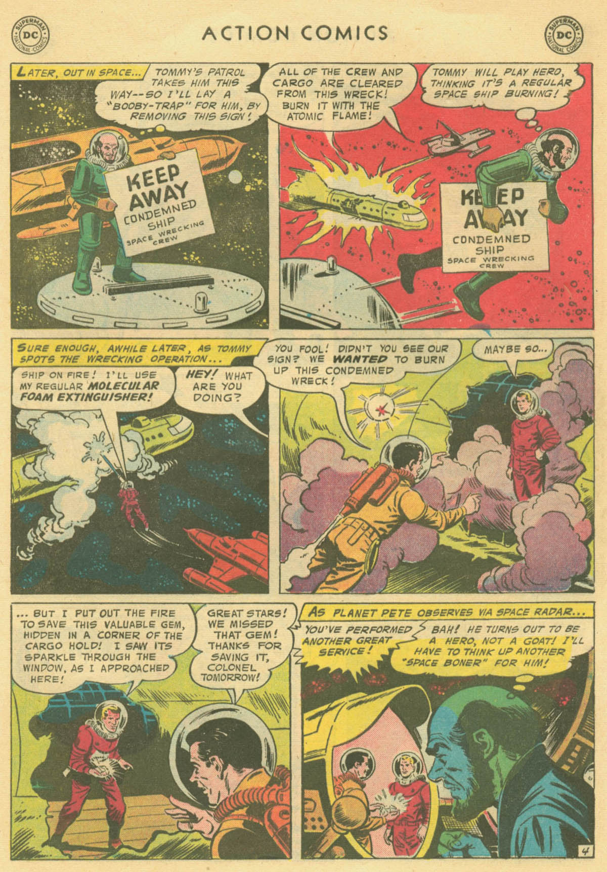 Read online Action Comics (1938) comic -  Issue #231 - 29