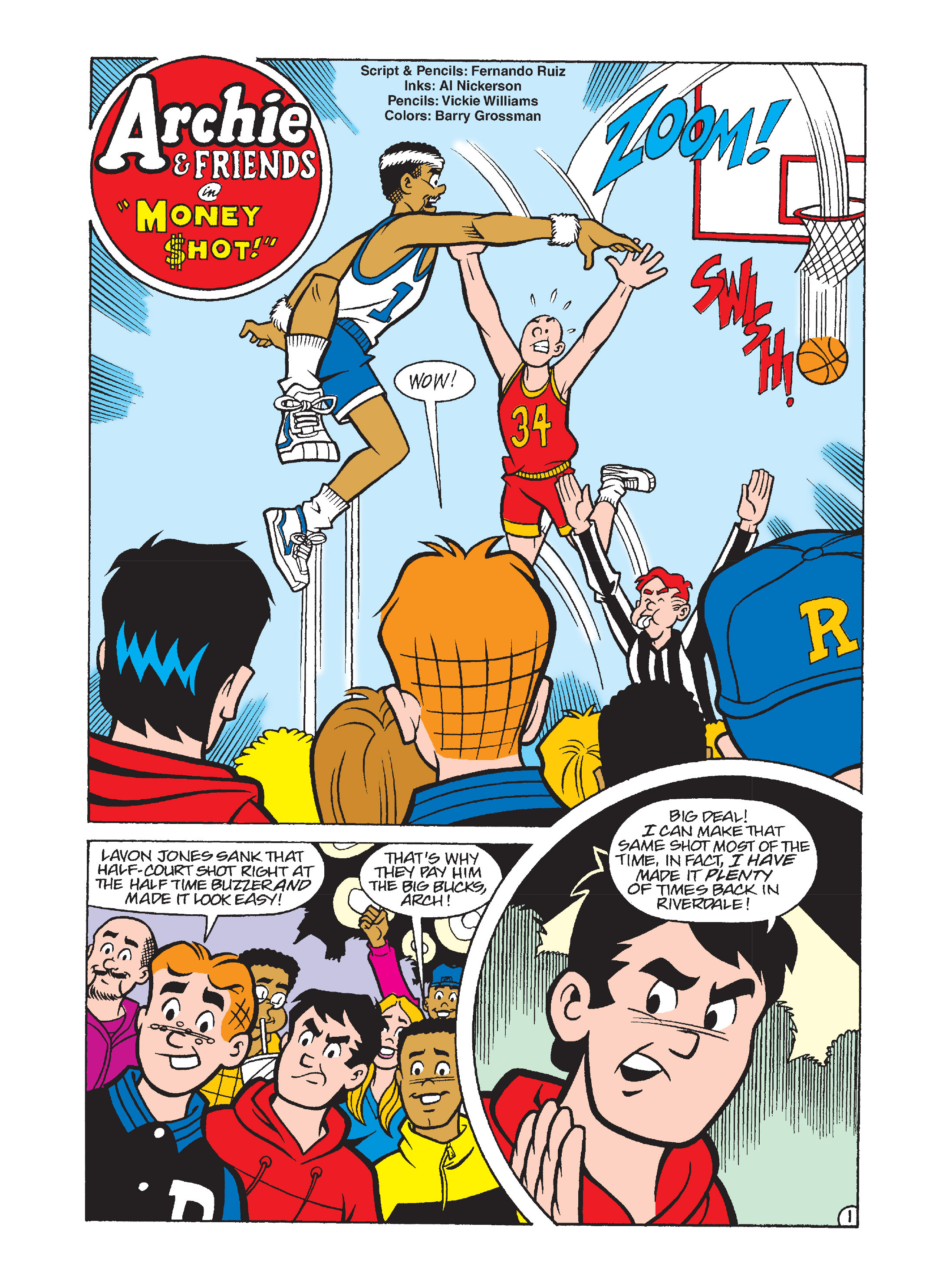 Read online Archie's Funhouse Double Digest comic -  Issue #12 - 29