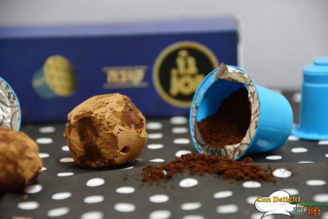שוקולד, דבש קפה טראפלס Truffles chocolate, coffee and honey