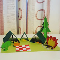 Top Ender's Paper Craft Camp Site