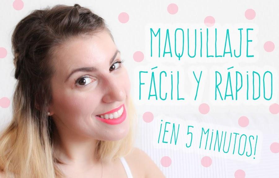 maquillaje rápido y fácil