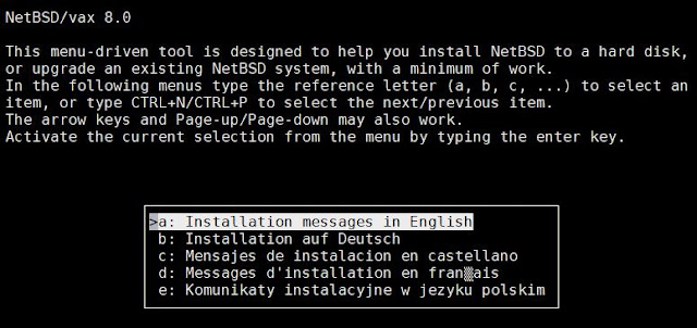 Supratim Sanyal's Blog: Raspberry Pi SIMH emulator - Installing NetBSD for VAX on MicroVAX 3900