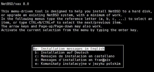 Supratim Sanyal's Blog: Raspberry Pi SIMH emulator - Installing NetBSD for VAX on MicroVAX 3900