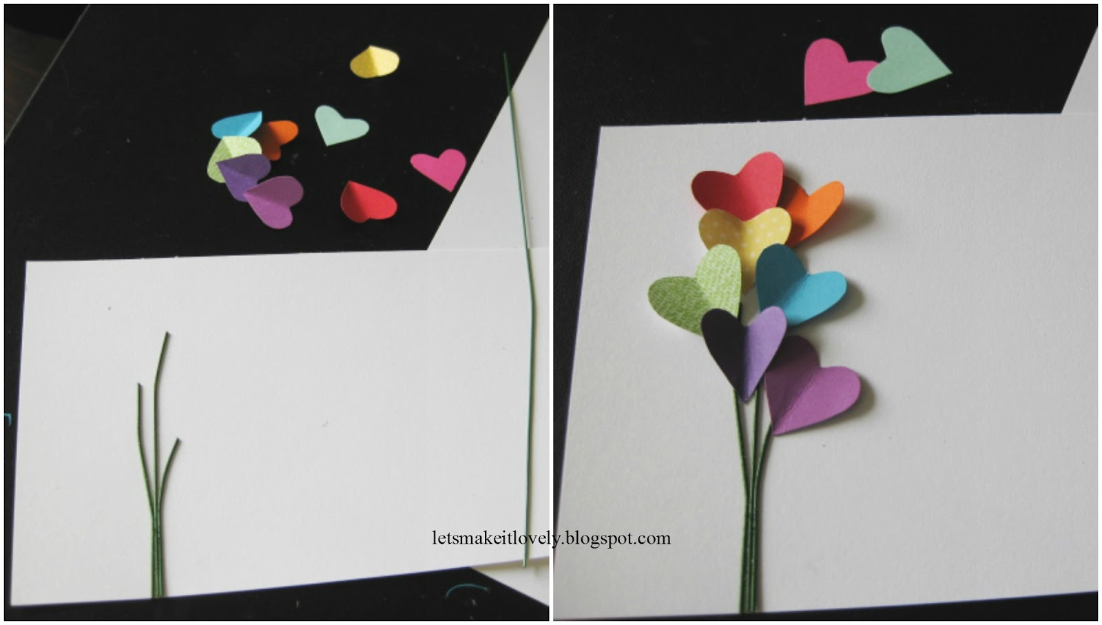 Let's make it lovely: Happy Birthday Pop Up Card