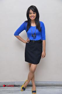 Actress Nandita Swetha Stills in Black Mini Skirt at Ekkadiki Potavu Chinnavada Movie Special Show  0060.JPG