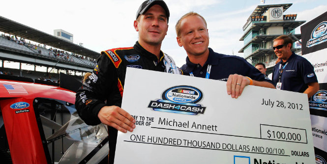 Talk Racing With Mike: Annett and 43 Team Take Home The